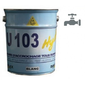U103 BLANC HYDRO   Primaire Acrrochage Et Protection Antirouille